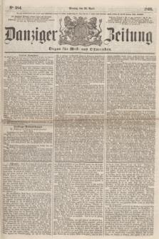 Danziger Zeitung : Organ für West- und Ostpreußen. 1860, No. 584 (23 April) + dod.