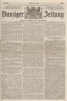 Danziger Zeitung : Organ für West- und Ostpreußen. 1860, No. 593 (4 Mai)