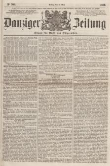 Danziger Zeitung : Organ für West- und Ostpreußen. 1860, No. 599 (11 Mai)
