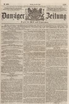 Danziger Zeitung : Organ für West- und Ostpreußen. 1860, No. 633 (22 Juni)