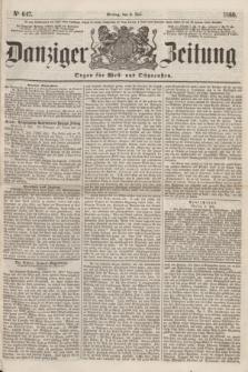 Danziger Zeitung : Organ für West- und Ostpreußen. 1860, No. 647 (9 Juli)