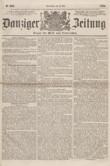 Danziger Zeitung : Organ für West- und Ostpreußen. 1860, No. 650 (12 Juli)