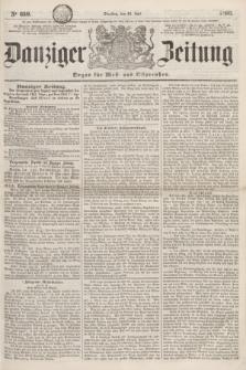 Danziger Zeitung : Organ für West- und Ostpreußen. 1860, No. 660 (24 Juli)
