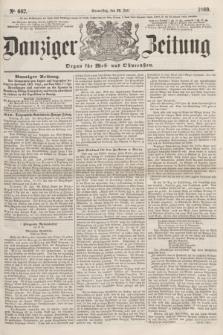 Danziger Zeitung : Organ für West- und Ostpreußen. 1860, No. 662 (26 Juli)
