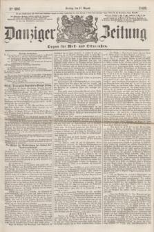Danziger Zeitung : Organ für West- und Ostpreußen. 1860, No. 681 (17 August)