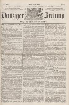 Danziger Zeitung : Organ für West- und Ostpreußen. 1860, No. 683 (20 August)