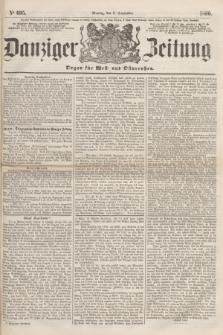 Danziger Zeitung : Organ für West- und Ostpreußen. 1860, No. 695 (3 September)