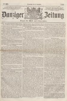 Danziger Zeitung : Organ für West- und Ostpreußen. 1860, No. 698 (6 September)