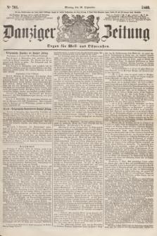 Danziger Zeitung : Organ für West- und Ostpreußen. 1860, No. 701 (10 September)