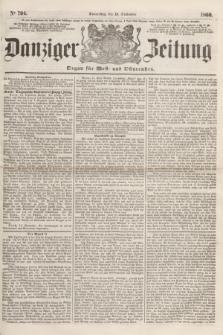 Danziger Zeitung : Organ für West- und Ostpreußen. 1860, No. 704 (13 September)