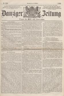 Danziger Zeitung : Organ für West- und Ostpreußen. 1860, No. 720 (2 Oktober)