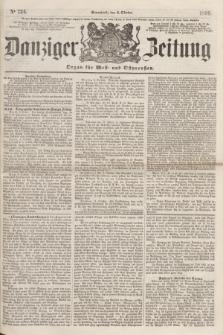 Danziger Zeitung : Organ für West- und Ostpreußen. 1860, No. 724 (6 Oktober) + dod.