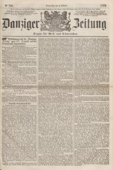 Danziger Zeitung : Organ für West- und Ostpreußen. 1860, No. 728 (11 Oktober)