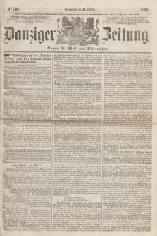 Danziger Zeitung : Organ für West- und Ostpreußen. 1860, No. 730 (13 Oktober) + dod.