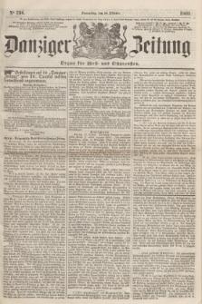 Danziger Zeitung : Organ für West- und Ostpreußen. 1860, No. 734 (18 Oktober)