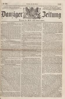 Danziger Zeitung : Organ für West- und Ostpreußen. 1860, No. 738 (23 Oktober)