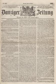 Danziger Zeitung : Organ für West- und Ostpreußen. 1860, No. 744 (30 Oktober)