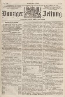 Danziger Zeitung : Organ für West- und Ostpreußen. 1860, No. 750 (6 November)