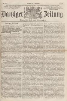 Danziger Zeitung : Organ für West- und Ostpreußen. 1860, No. 751 (7 November)