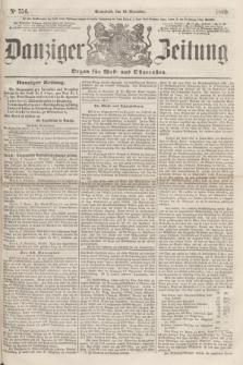 Danziger Zeitung : Organ für West- und Ostpreußen. 1860, No. 754 (10 November) + dod.