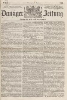 Danziger Zeitung : Organ für West- und Ostpreußen. 1860, No. 757 (14 November)
