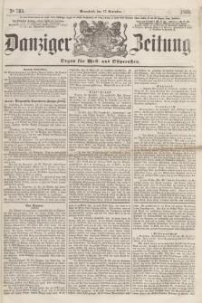 Danziger Zeitung : Organ für West- und Ostpreußen. 1860, No. 760 (17 November) + dod.
