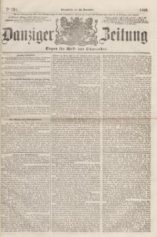 Danziger Zeitung : Organ für West- und Ostpreußen. 1860, No. 766 (24 November) + dod.