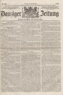 Danziger Zeitung : Organ für West- und Ostpreußen. 1860, No. 768 (27 November)