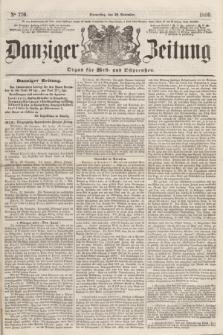 Danziger Zeitung : Organ für West- und Ostpreußen. 1860, No. 770 (29 November)