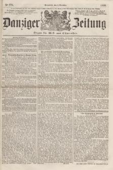 Danziger Zeitung : Organ für West- und Ostpreußen. 1860, No. 778 (8 Dezember) + dod.