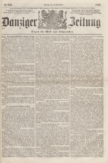 Danziger Zeitung : Organ für West- und Ostpreußen. 1860, No. 783 (14 December) + dod.