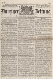 Danziger Zeitung : Organ für West- und Ostpreußen. 1860, No. 784 (15 December) + dod.