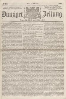 Danziger Zeitung : Organ für West- und Ostpreußen. 1860, No. 785 (17 December) + dod.