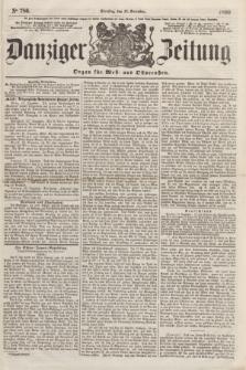 Danziger Zeitung : Organ für West- und Ostpreußen. 1860, No. 786 (18 December) + dod.