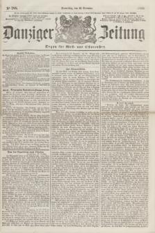 Danziger Zeitung : Organ für West- und Ostpreußen. 1860, No. 788 (20 December) + dod.