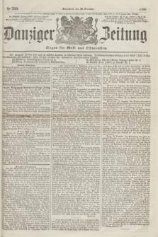 Danziger Zeitung : Organ für West- und Ostpreußen. 1860, No. 790 (22 December) + dod.