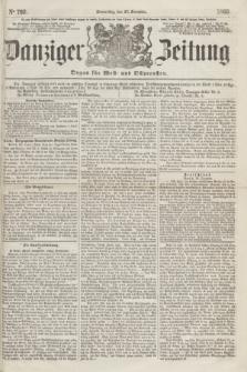 Danziger Zeitung : Organ für West- und Ostpreußen. 1860, No. 792 (27 December)
