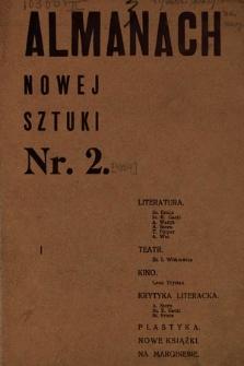 Almanach Nowej Sztuki. 1924, nr2