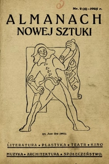 Almanach Nowej Sztuki. 1925, nr2