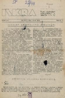 Iskra : pismo młodzieży Konfederacji Narodu. 1944, nr1