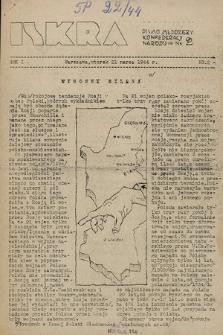 Iskra : pismo młodzieży Konfederacji Narodu. 1944, nr2