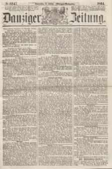 Danziger Zeitung. 1864, Nr. 2247 (21 Januar) - (Morgen-Ausgabe.)