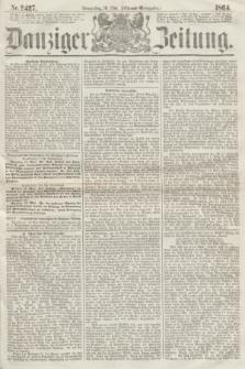 Danziger Zeitung. 1864, Nr. 2427 (19 Mai) - (Aben=Ausgabe.)