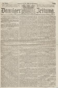 Danziger Zeitung. 1864, Nr. 2481 (23 Juni) - (Morgen=Ausgabe.)