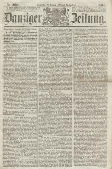 Danziger Zeitung. 1864, Nr. 2669 (20 October) - (Abend=Ausgabe.)