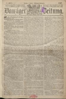 Danziger Zeitung. 1867, № 4008 (1 Januar) - (Morgen=Ausgabe.)