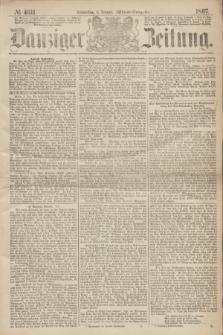 Danziger Zeitung. 1867, № 4011 (3 Januar) - (Abend=Ausgabe.)
