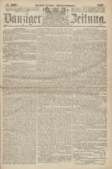 Danziger Zeitung. 1867, № 4038 (19 Januar) - (Morgen=Ausgabe.)