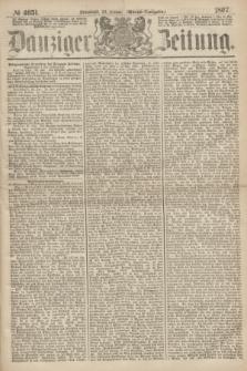 Danziger Zeitung. 1867, № 4051 (26 Januar) - (Abend=Ausgabe.) + dod.