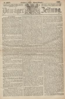 Danziger Zeitung. 1867, № 4063 (2 Februar) - (Abend=Ausgabe.)